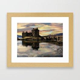 Eilean Donan Castle Scotland Framed Art Print
