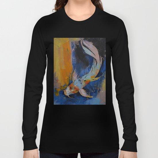 Sanshoku Koi Long Sleeve T-shirt