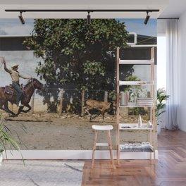 horse by fran hogan Wall Mural