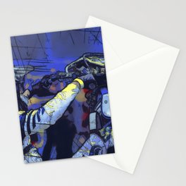 All Revved Up - Freestyle Motocross Rider Stationery Cards
