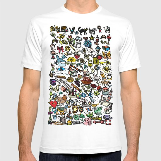 100 things T-shirt