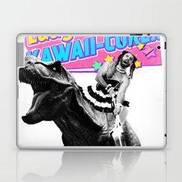 Ladybeard riding a T-Rex Laptop & iPad Skin