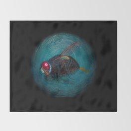 Dead Fly Throw Blanket