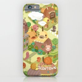 Slowtown iPhone Case