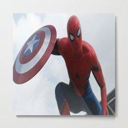 Man Of Spider Metal Print