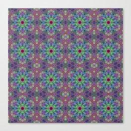 Cellular Geometry Canvas Print