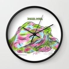 Delta Zeta Pearl Wall Clock