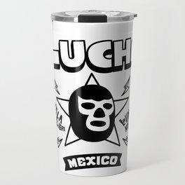 AMO LA LUCHA LIBRE3 Travel Mug