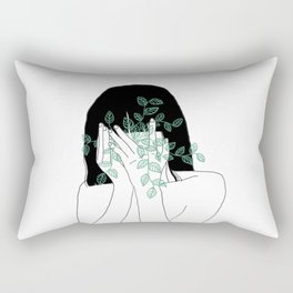 A little bit dissapointed in humanity / Illustration Rectangular Pillow