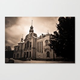 The Old Palace Canvas Print