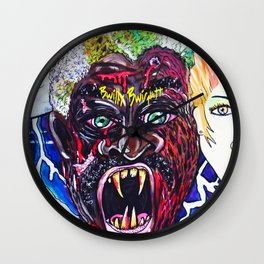 Beauty and The Daywalker  Wall Clock