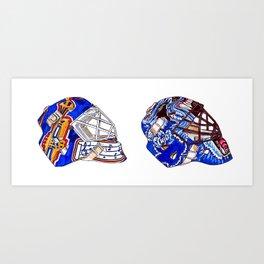 Joseph - Masks Art Print