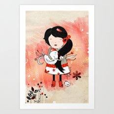 Galina Art Print