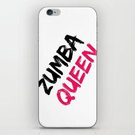 Zumba Queen iPhone Skin
