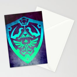 Video game Shield Stationery Cards
