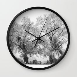 Snowbound Wall Clock
