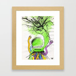 pimphand Framed Art Print