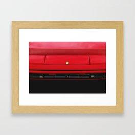 Ferrari Mondial 3.2 Wallpaper  Framed Art Print