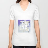 1989 V-neck T-shirts featuring 1989 by *starbucks*