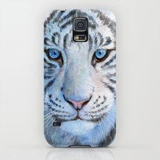 White Tiger Cub 852 Galaxy S5 Slim Case
