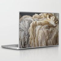 lace Laptop & iPad Skins featuring Lace by Jillian Audrey