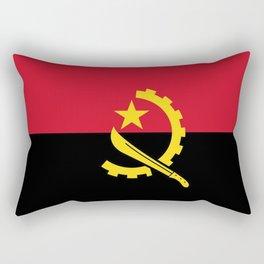 Angola Flag Rectangular Pillow