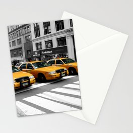 NYC - Yellow Cabs - Shops Stationery Cards