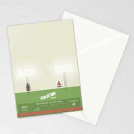 Filligar  with DOM - Brighton Music Hall - Fenway Poter Stationery Cards
