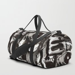 Reflection - b&w Duffle Bag