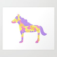 This is not a horse Art Print
