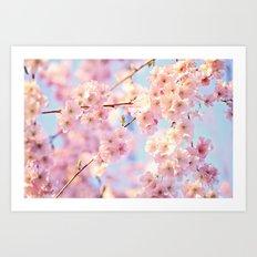 burst of bloom Art Print