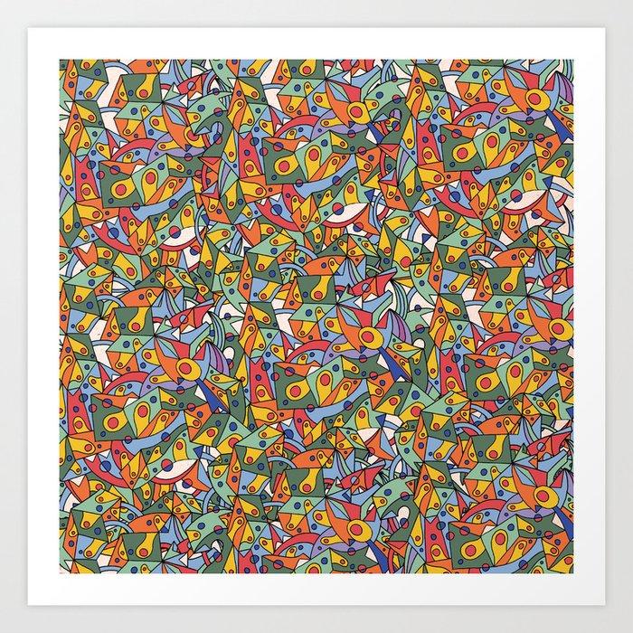 - amorphe - Art Print