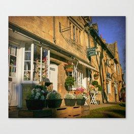 Sunny Chipping Campden Canvas Print