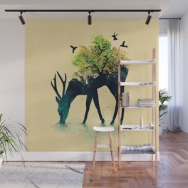 Watering (A Life Into Itself) Wall Mural