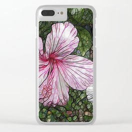 Fabulous hibiscus Clear iPhone Case