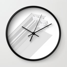 love minimalism Wall Clock