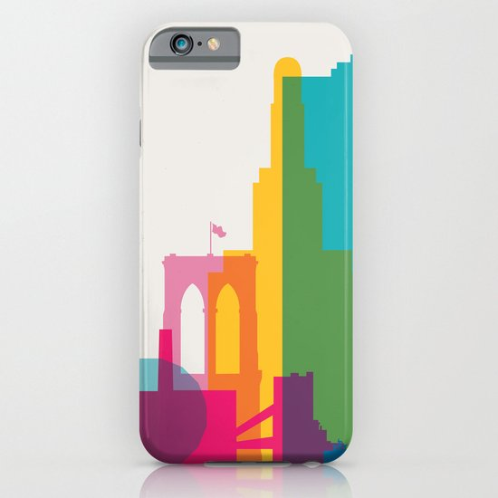Shapes of Brooklyn. Accurate to scale iPhone & iPod Case