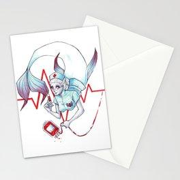 Nurse Mermaid Stationery Cards