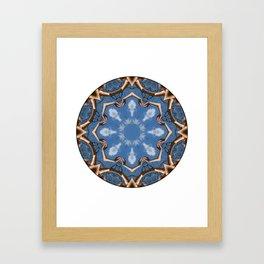 Lavinia: Sacred Mandala by Sarah Barrick Framed Art Print