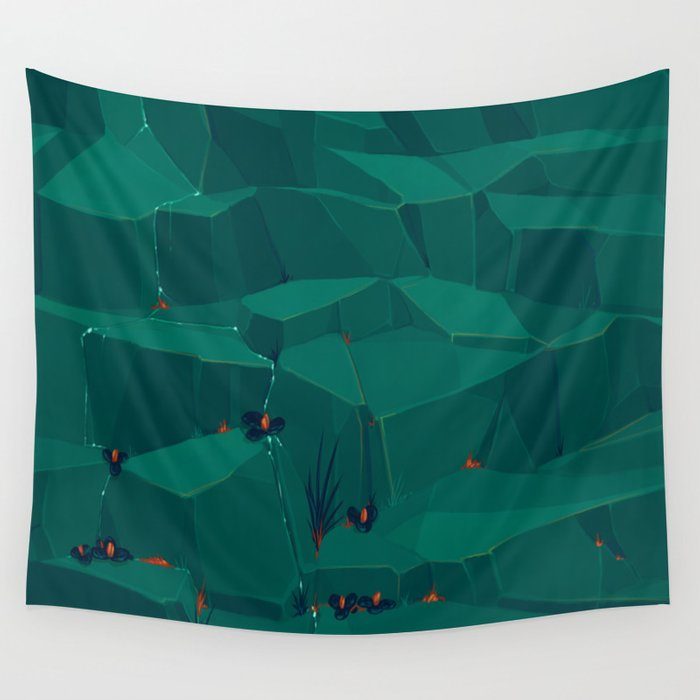 Streaming Wall Tapestry