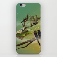dreamcatcher iPhone & iPod Skins featuring DREAMCATCHER by ANVIK