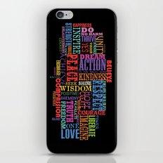 GOOD VIBRATIONS iPhone & iPod Skin