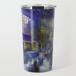 Kings Cross Station Van Gogh Travel Mug