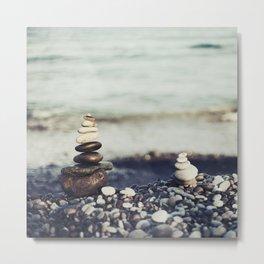 piedras Metal Print
