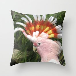 Major Mitchell's Cockatoo Throw Pillow