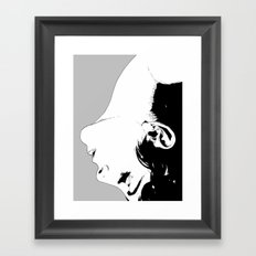 Woman #2 Framed Art Print