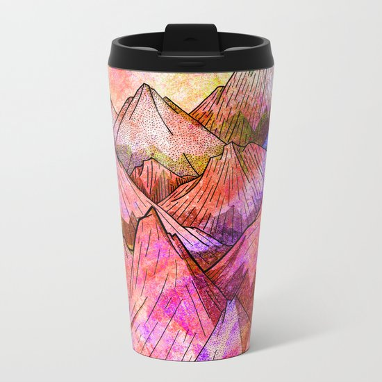 Peaks of Colours Metal Travel Mug