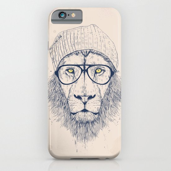 Cool lion iPhone & iPod Case