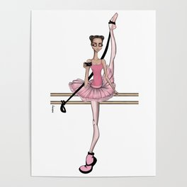 Ballet selfie Poster