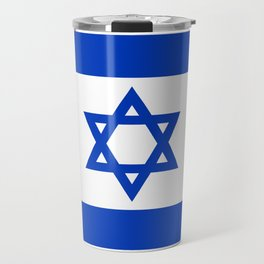 Flag of the State of Israel - High Quality Image Travel Mug